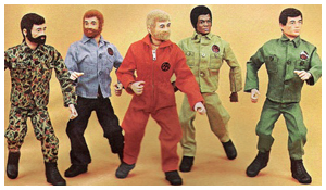 The 1970's era GI Joe adventure team